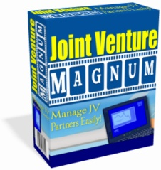 Product picture *NEW!* Joint Venture Magnum - Powerful JV Management Software!