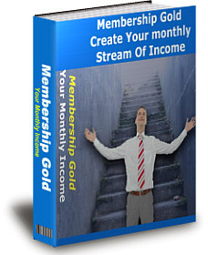 Product picture *NEW!*  Membership Gold - PRIVATE LABEL RIGHTS | Create Your Monthly Stream Of Income