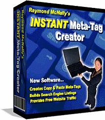 Product picture *NEW*  Instant Meta Tag Creator |  INSTANT META Tag Maker SOFTWARE| Building Free And Effective Search Engine Listings