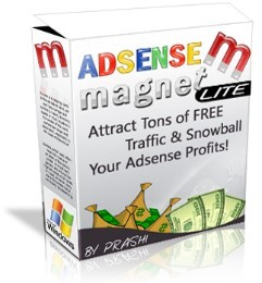 Product picture *NEW!* AdSense Magnet - Lite  - MASTER RESALE RIGHTS | Attract Tons of FREE Traffic & Snowball Your Adsense Profits!