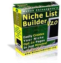 Product picture *NEW!* Niche List Builder v2.0 Software - Create Opt-In Pages!
