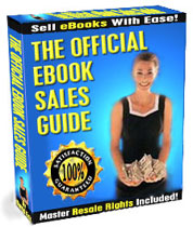 Product picture *NEW* The Official eBook Sales Guide -  An amazing new eBook shows you how to sell hundreds of eBooks per year!