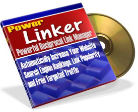 Product picture *NEW*  Power Linker | Powerful Reciprocal Link Manager