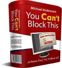 Product picture *NEW!*  You Cant Block This! - Powerful Popup Software | Unblockable Pop-up Creator
