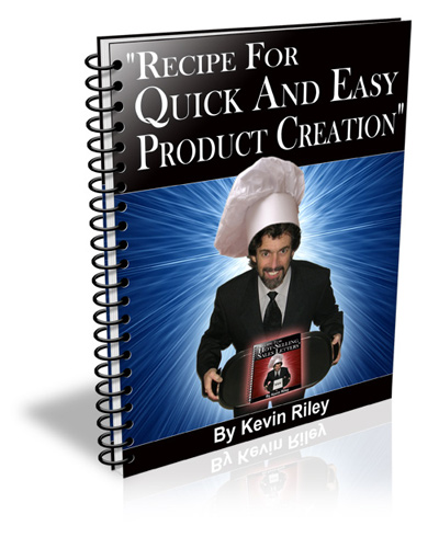 Product picture *NEW*   Recipe For Quick And Easy Product Creation - Reports For $7 Secrets