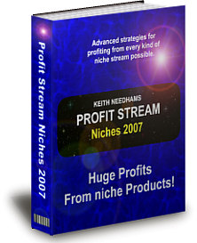 Product picture *NEW!* Profit Stream Niches 2007 - PRIVATE LABEL RIGHTS | Huge Profits From Niche Products!