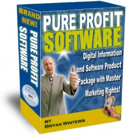 Product picture *NEW!* Pure Profit Software - MASTER RESALE RIGHTS | Instantly Gain Master Marketing Rights to an  Arsenal of 100 Profit Software Products!