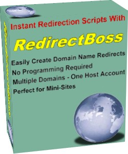 Product picture *NEW*  Redirect Boss Custom - Create Instant Redirection Scripts - Resell Rights