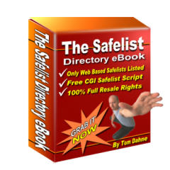 Product picture *NEW!* The Safelist Directory eBook |  Get over 600 web-based mailer safelists in this directory (and growing all the time)