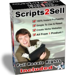 Product picture *NEW*  Scripts2Sell  -  Resell Rights -  Scripts 2 Sell | 100 Profit Pulling Kit Gives Everyone The Power To Create Niche Websites | NICHE SITE BUILDER COLLECTION