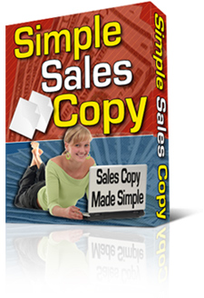 Product picture *NEW!*  Simple Sales Copy | Instantly Generate Cash-Producing