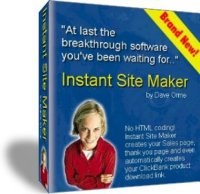 Product picture *NEW!*  Instant Site Maker | Create Web Pages in Just Clicks!