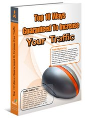 Product picture *NEW*  Top 10 Ways Guaranteed To Increase Traffic To Your Website