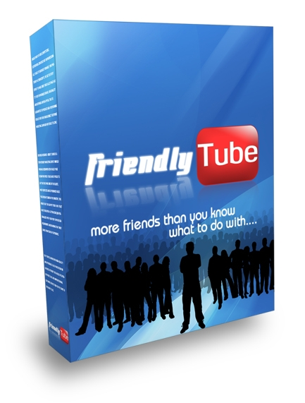 Product picture *NEW!* FriendlyTube YouTube Friend Adder - MASTER  RESALE RIGHTS | Add New Friends And Comments To Your YouTube Account On Autopilot!