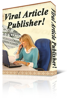 Product picture *NEW!* Viral Article Publisher Software Program | Great way to get free advertising