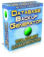 Product picture *NEW!*  Database Backup Generator - PRIVATE LABEL RIGHTS | Total Automatic Database Protection.